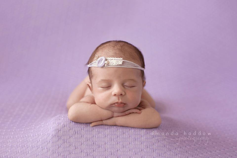 Newborn pictures victoria bc - baby mila