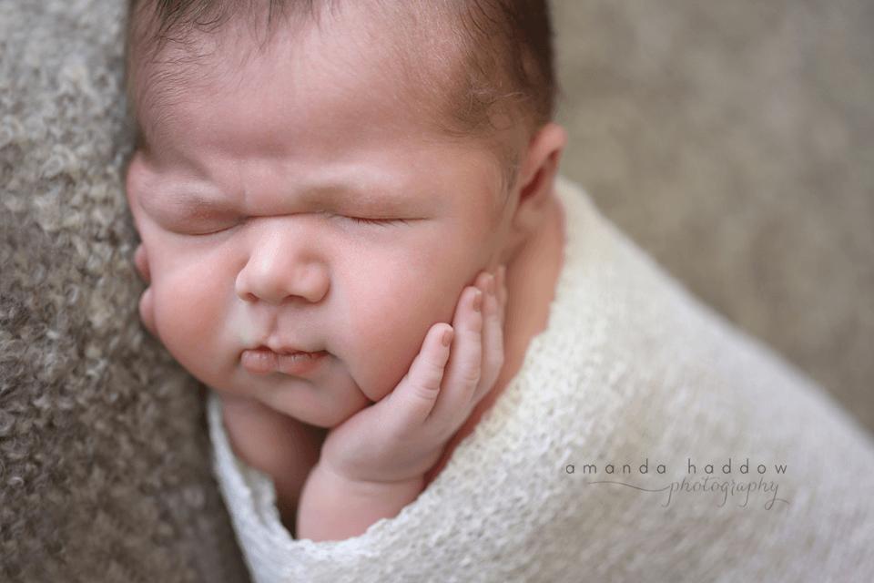 newborn pictures victoria - baby david chub cheeks